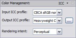 Nextimage 4 color management