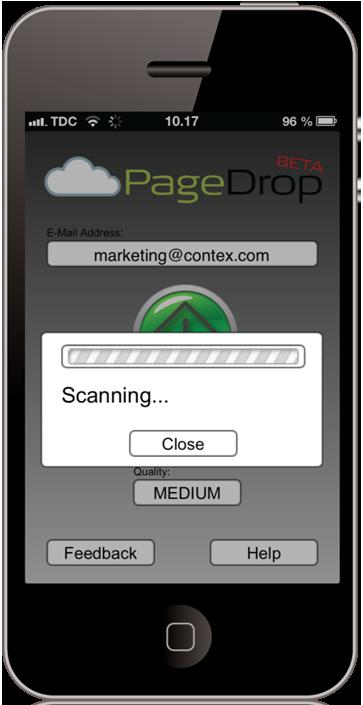 PageDrop step 3