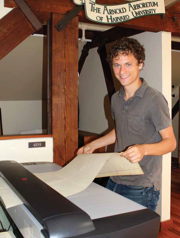 Jonathan Damery with the Contex HD scanner